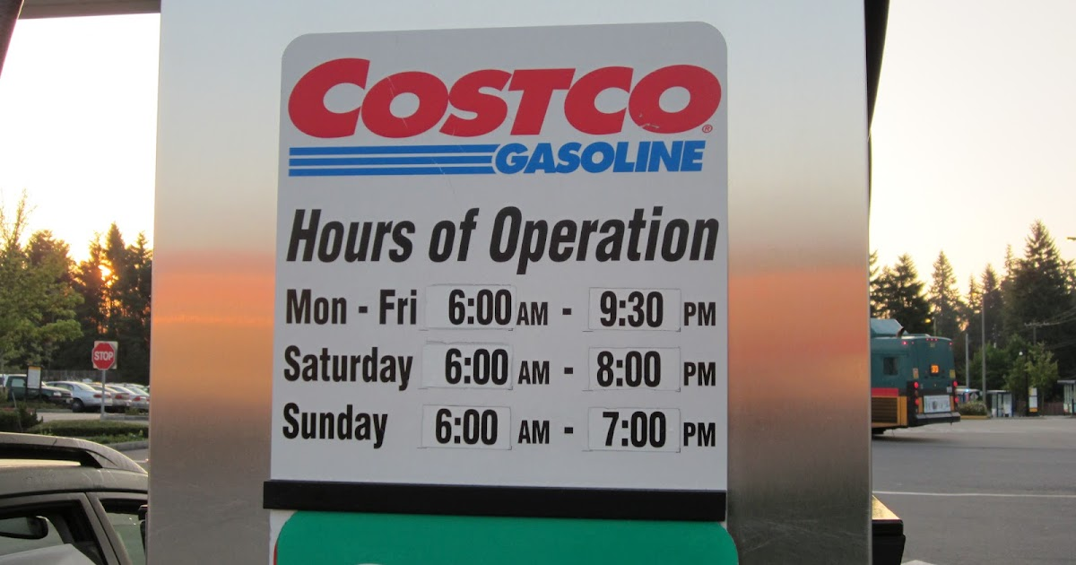 evo davo shoreline costco gas station hours of operation. Black Bedroom Furniture Sets. Home Design Ideas