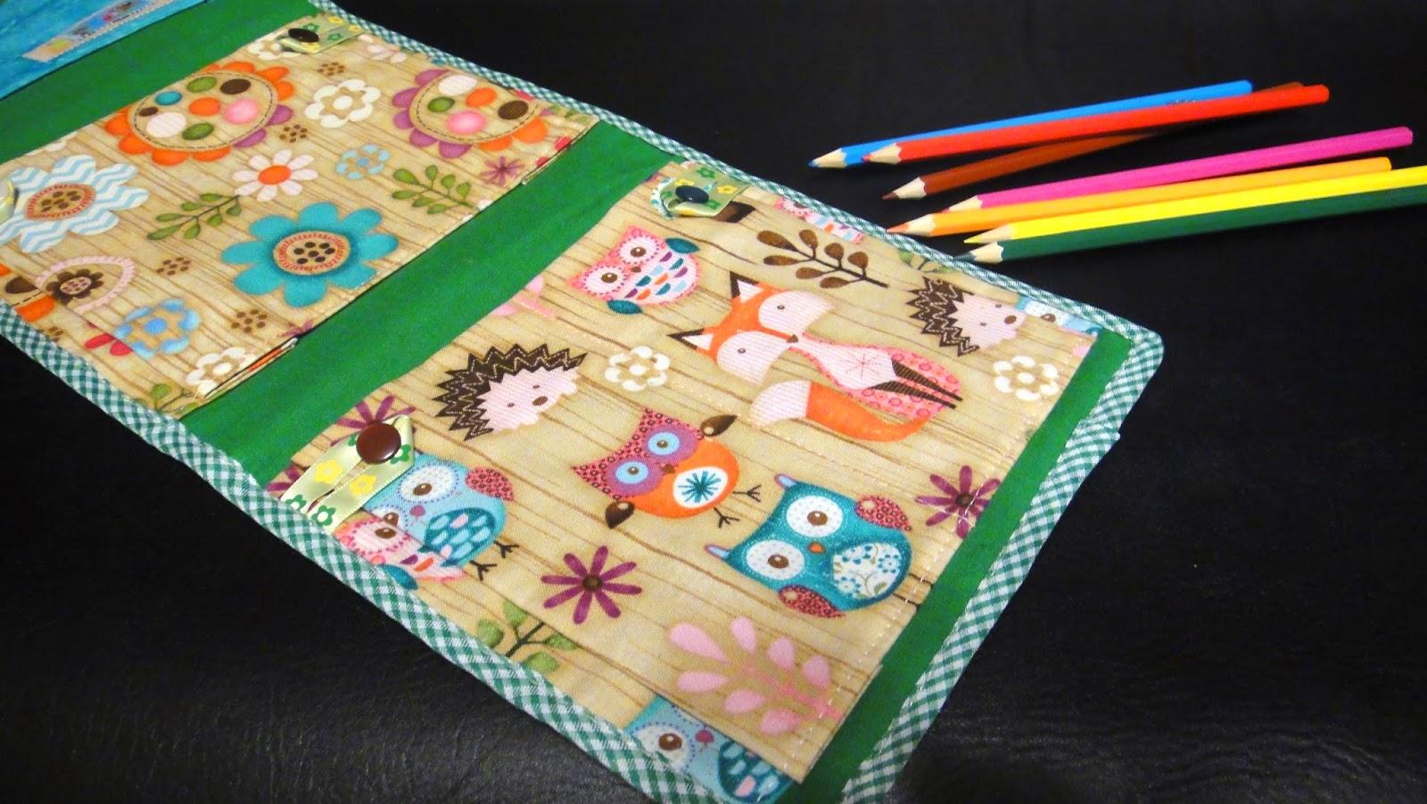 Навесной кармашек в садик: персонажи совы, лисы, ежики - подарок ребенку