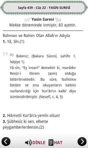 Kuran-ı Kerim okuma programi.