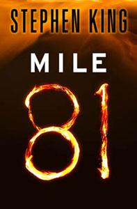 Portada original de Mile 81, de Stephen King
