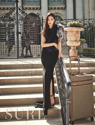 Kim Sarang - Sure Magazine October Issue 2015