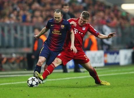 Hasil Bayern Munchen VS Barcelona Tadi Malam