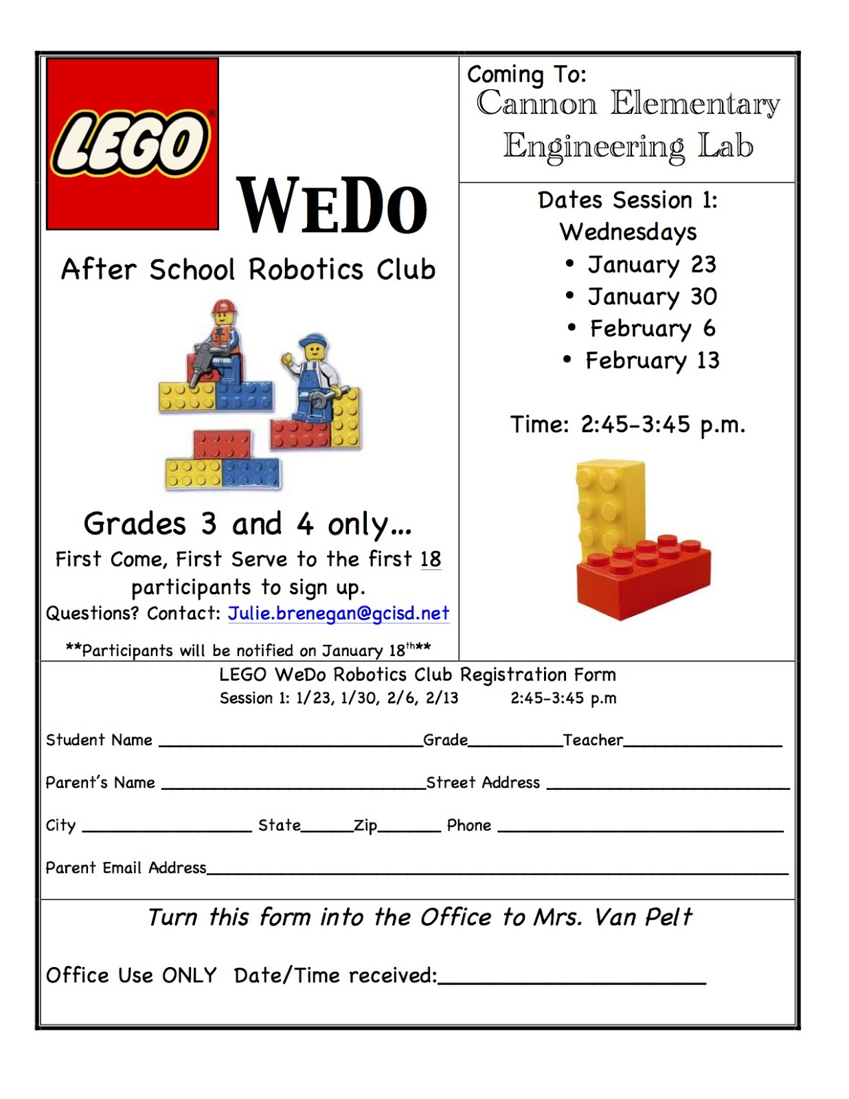 Sum Third Grade Math: Lego Robotics Club