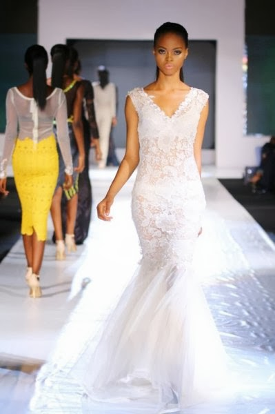 wedding dress  GTB Lagos Fashion & Design Week: Wiezdhum Franklyn