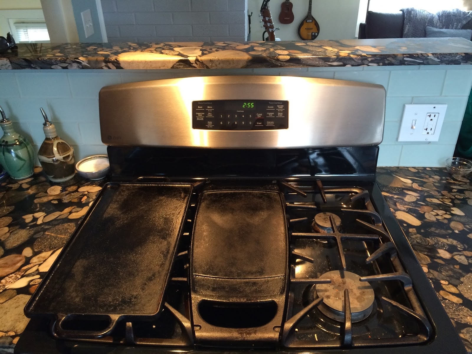 Stove With Griddle In The Middle ~ Derek on cast iron recipes