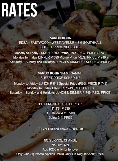 FTW! Blog, Sambokojin, #FTWblog, #FTWeats, Japanese Cuisine, Korean Cuisine, Buffet