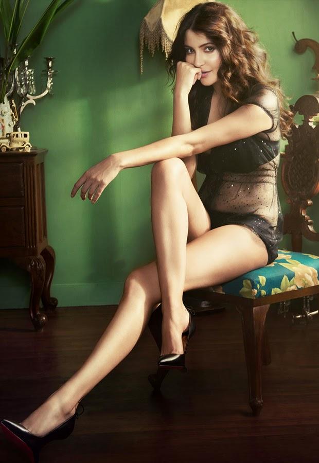 Anushka Sharma sexy legs
