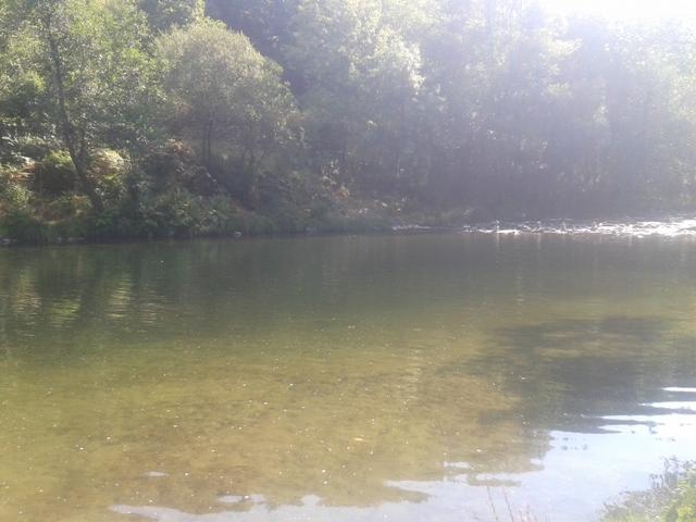 Água do Rio Paiva no Vau
