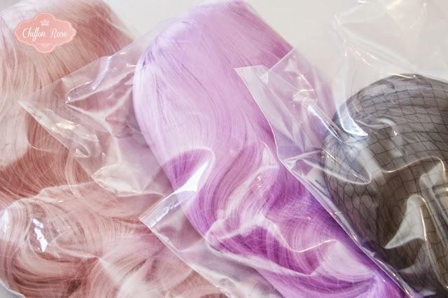 Chiffon Rose Shop Pastel Kawaii Pastelgoth cute jfashion tokyo wigs