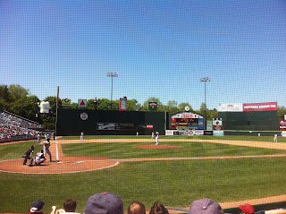 A view of Hadlock Field from our seats