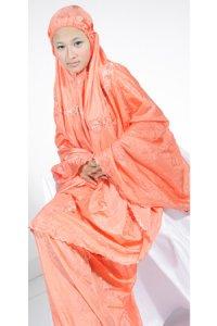 Mukena Dewasa Parasut Jumbo - Merah Bata (Toko Jilbab dan Busana Muslimah Terbaru)