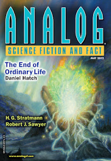 Cover image of Analog Science Fiction and Fact magazine, March 2012 issue