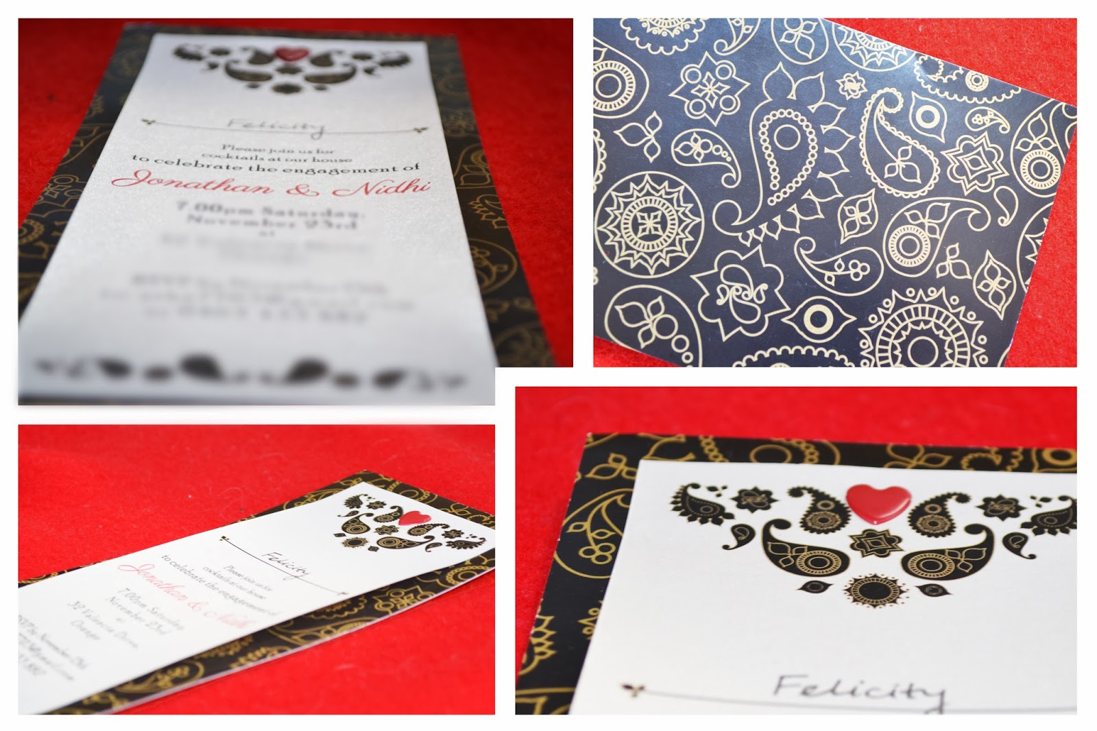 Felicity Cantrill - Graphic design: Personalised Stationery
