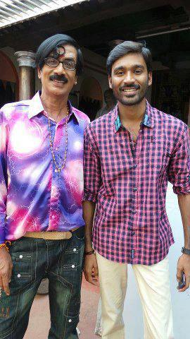 Dhanush And Manobala In Naiyaandi Movie Gallery