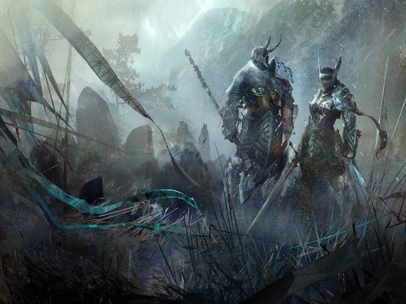 Richard Anderson flaptraps arte conceitual ilustrações pinturas games fantasia ficção científica Guild Wars 2
