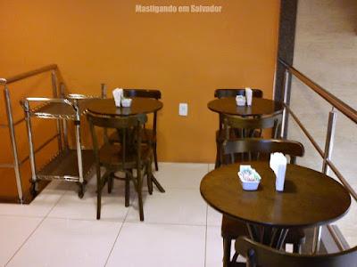 Doce Incanto Café & Torteria: Ambiente (mezanino)
