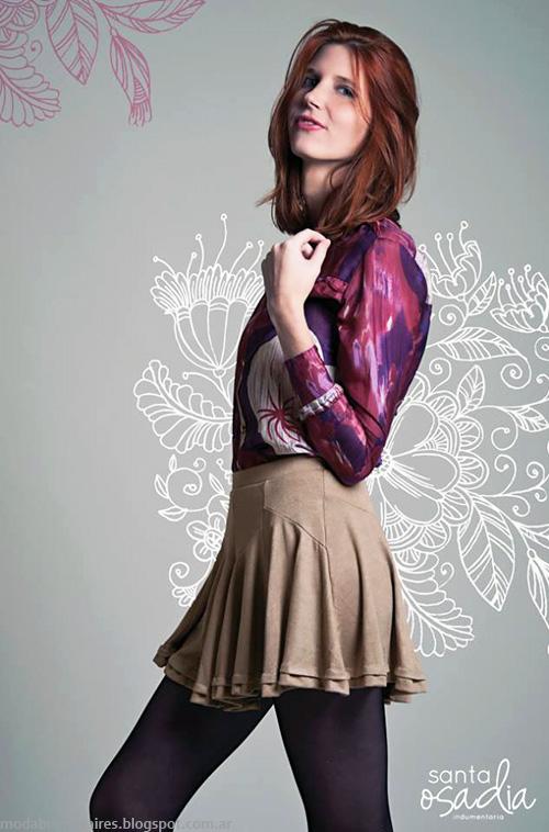 Santaosadia otoño invierno 2014 faldas de moda. Ropa de mujer de moda 2014.