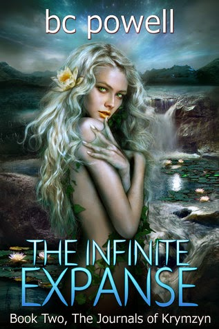 The infinite expanse journals of krymzyn fantasy by bc powell