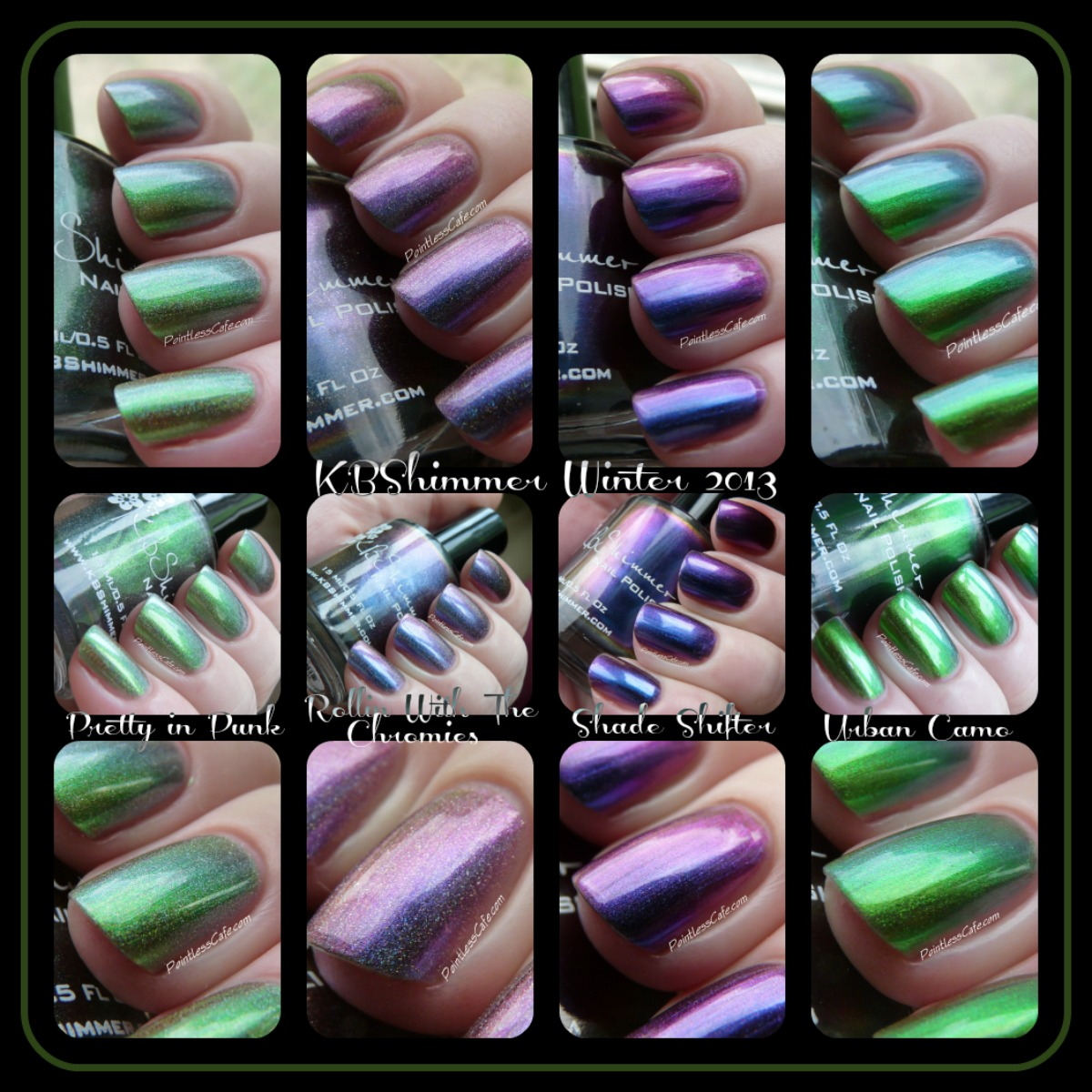 KBShimmer Winter 2013 Collection: Pretty in Punk, Rollin\' With the ...