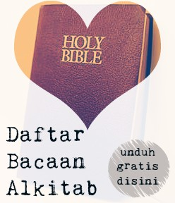 Daftar Bacaan Alkitab, unduh gratis!