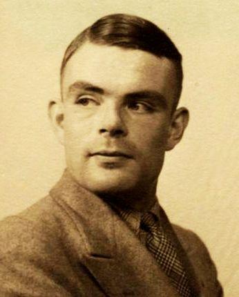 Alan Turing Rompiendo códigos