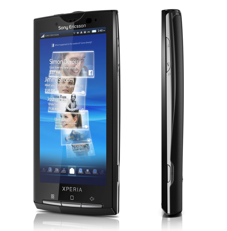 mobile sony ericsson x10 android phone. Black Bedroom Furniture Sets. Home Design Ideas