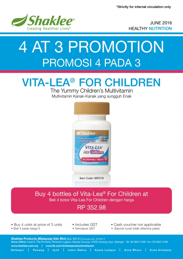 PROMOTION OF THE MONTH