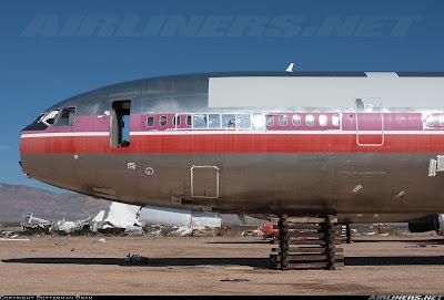 Quanto tempo dura um avião comercial? TBo+DC-10+sucateado
