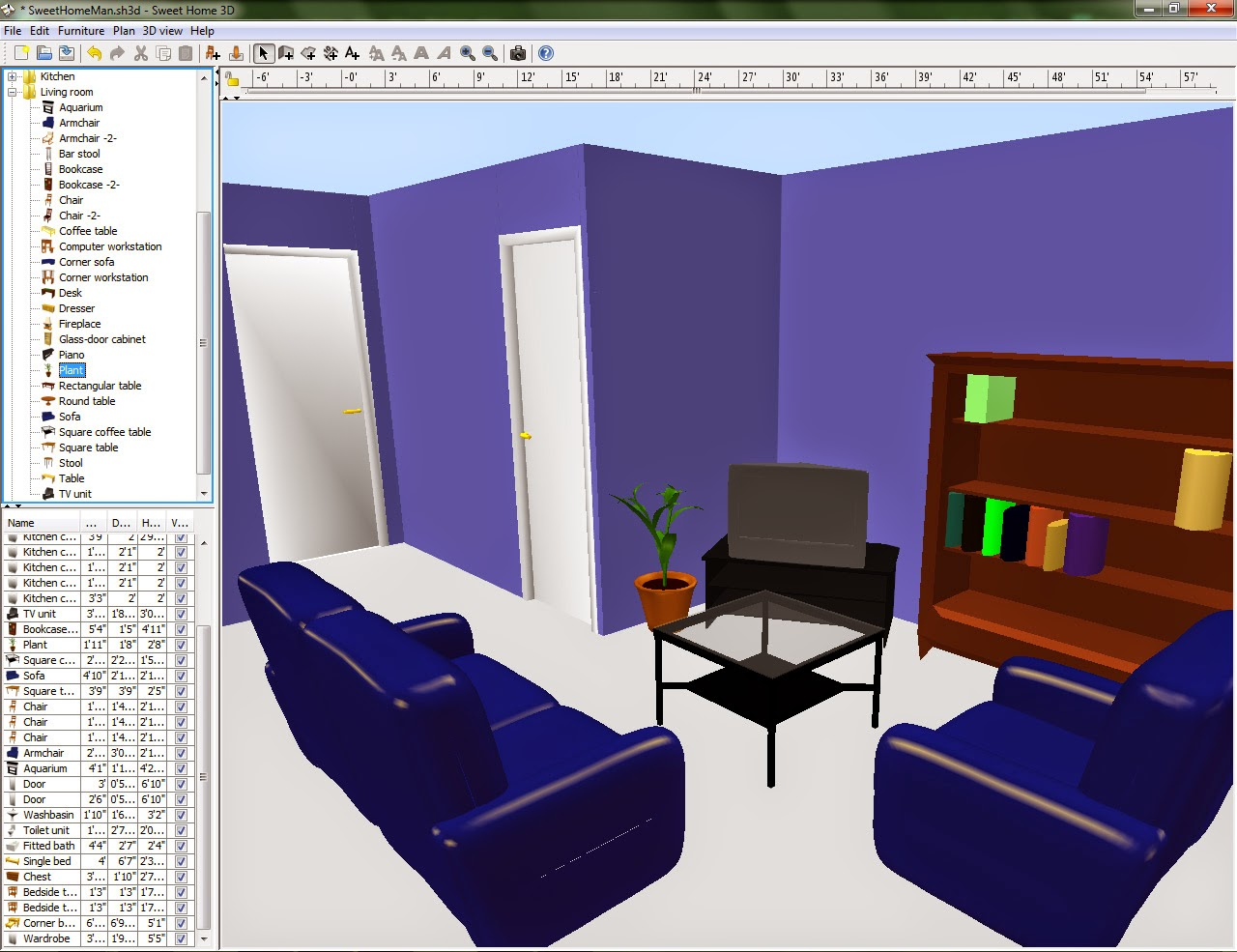 Interior design 3d software art interior designs ideas Program design interior 3d free