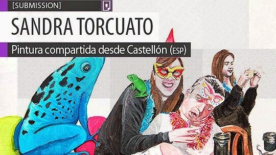 Pintura. Fiesta instantánea de SANDRA TORCUATO