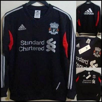 New Sweater Training Grade Ori Warrior 2014 - 2015 Liverpool FC Garuda