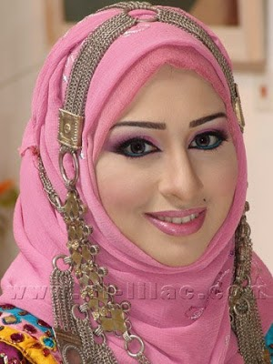 beautiful muslim women eyes