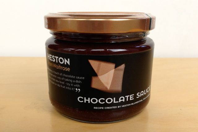 HESTON from Waitrose - Vegan Chocolate Sauce