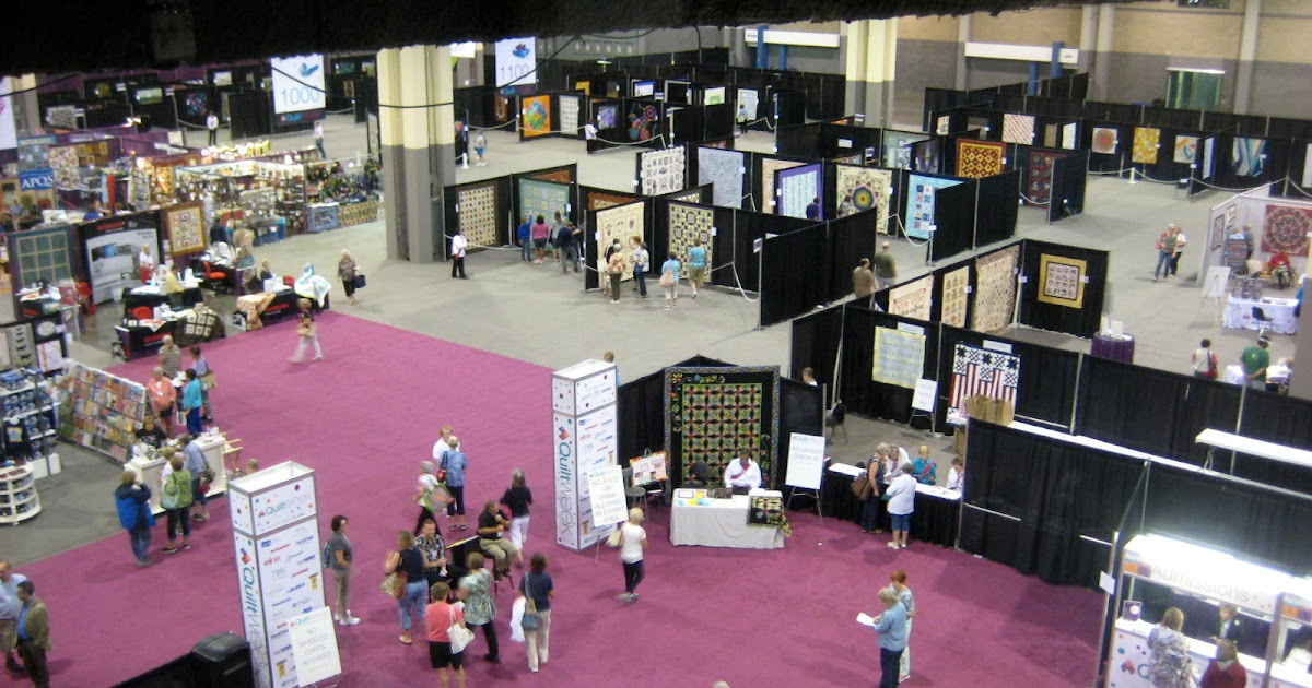 Amy's Free Motion Quilting Adventures: AQS Charlotte Show