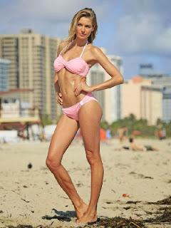 English: Jessica Hart Bikini Miami