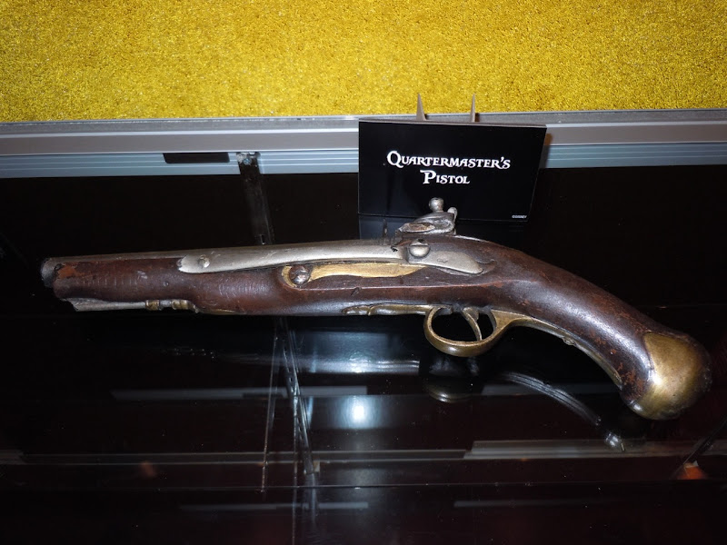 Quartermaster pistol prop Pirates of the Caribbean 4