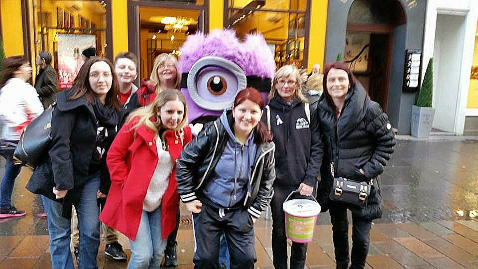 Angel Wings team. Glasgow. Minion