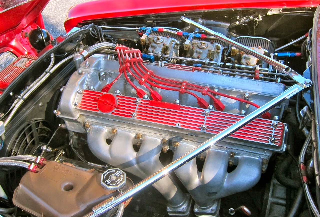 Jaguar à toutes les sauces. - Page 13 Engine,+left+side