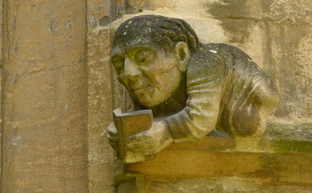 Balliol, grotesques, Old Hall