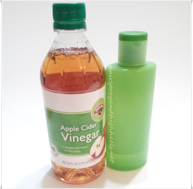 Apple Cider Vinegar as a toner recipe