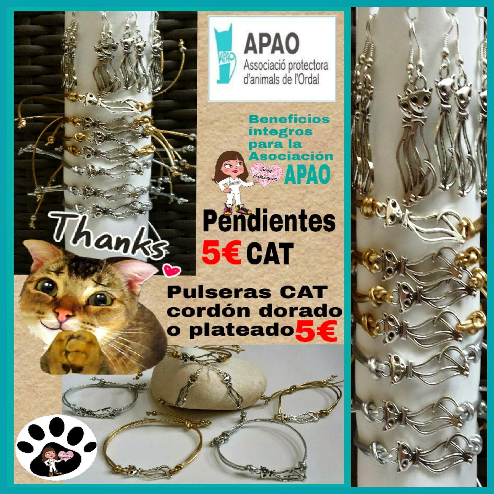 Pulseras y Pendientes CATS HANDMADE