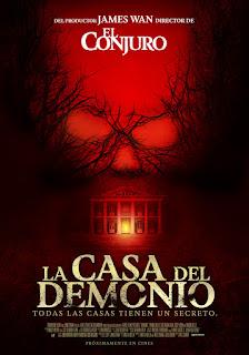La Casa del Demonio (Demonic) Poster