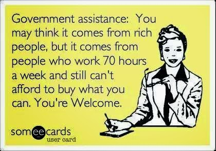 gov't+assistance wee3kidsdisorientare welfare, explained through memes