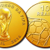 Finalmente as moedas da copa do mundo FIFA 2014