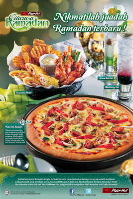 Pizza hut restaurant citarasa ramadan menu 2012