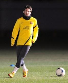 La Gripe el único rival que puede con Messi