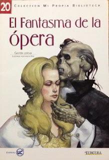 Portada del fantasma de la opera para descargar en pdf gratis