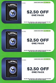 Camel Cigarettes Coupon 2012
