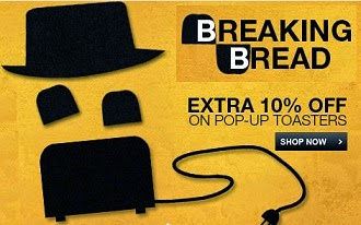 Enjoy Extra 10% Off on Select Popup Toasters at Flipkart