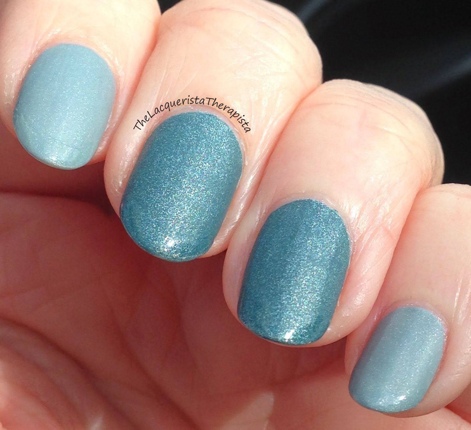 Butter London, Lady Muck, Victoriana, matte, tips, shimmer